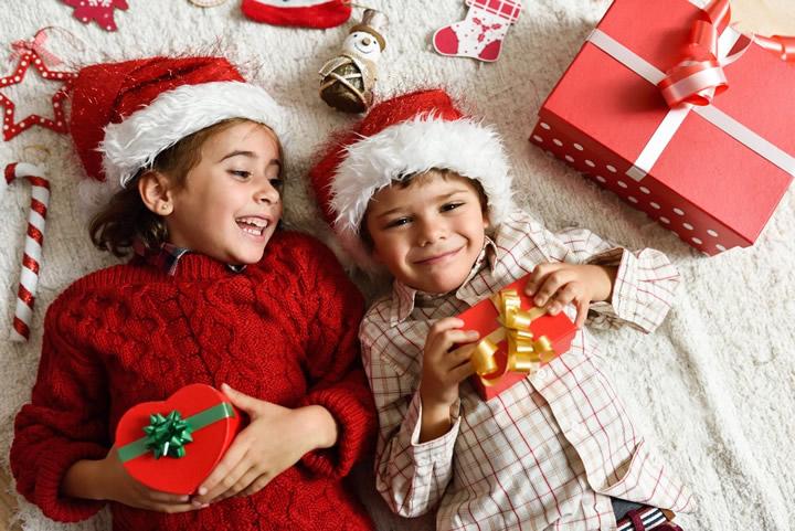 Çocuklar için yılbaşı hediyesi