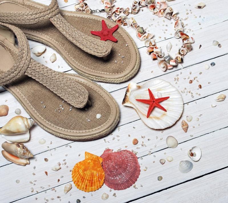 Hasır Sandaletler
