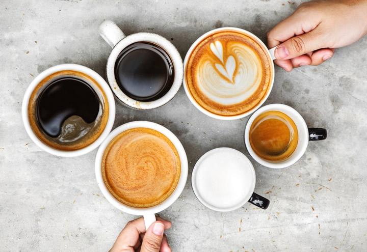 Kahve Düşkünleri İçin Az Kalorili Lezzetler