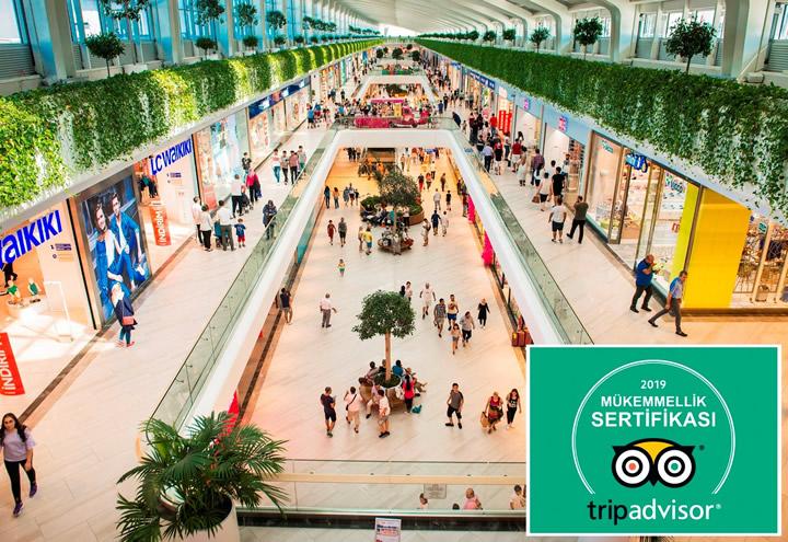 2019 Yılının Mükemmeli Mall of Antalya & Deepo Outlet Center Oldu
