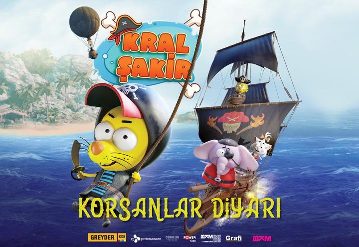 'Kral Şakir Korsanlar Diyarı' 28 Eylül'de Mall of Antalya'da!