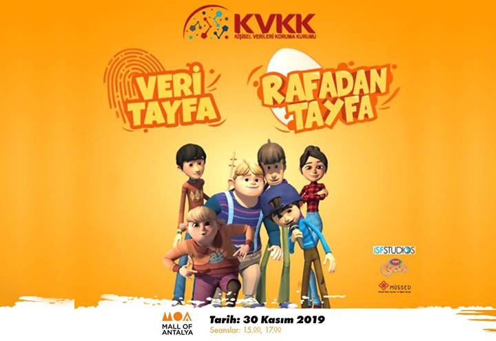 Rafadan Tayfa 30 Kasım'da Mall of Antalya'da!