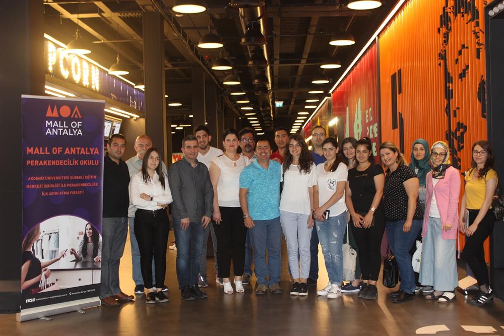 Mall of Antalya Perakendecilik Okulu Sertifikaları