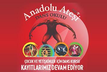 Anadolu Ateşi Dans Okulları Çocuk ve Yetişken Dans Kursları İle Kapılarını Açıyor