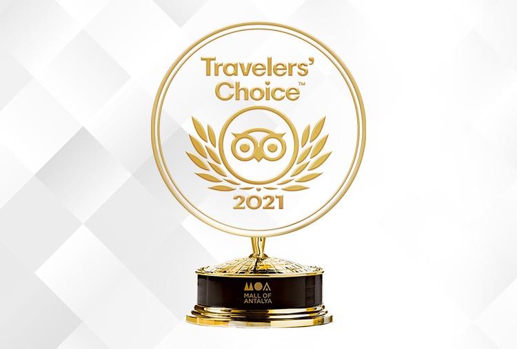 Mall of Antalya 'Traveller's Choice' 2021 Ödülünü Kazandı