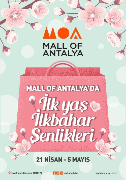 Mall of Antalya İlk Yaş İlkbahar Şenlikleri