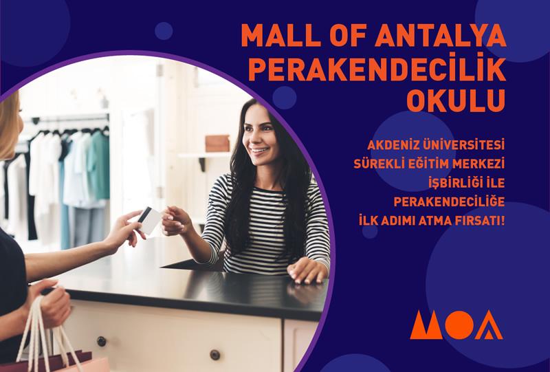 Mall of Antalya Perakendecilik Okulu