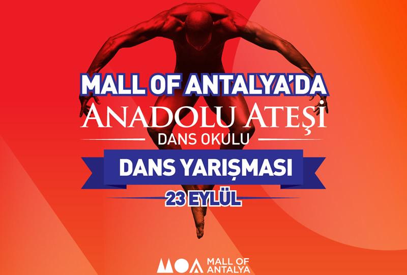 Mall of Antalya da dans yarışması başlıyor