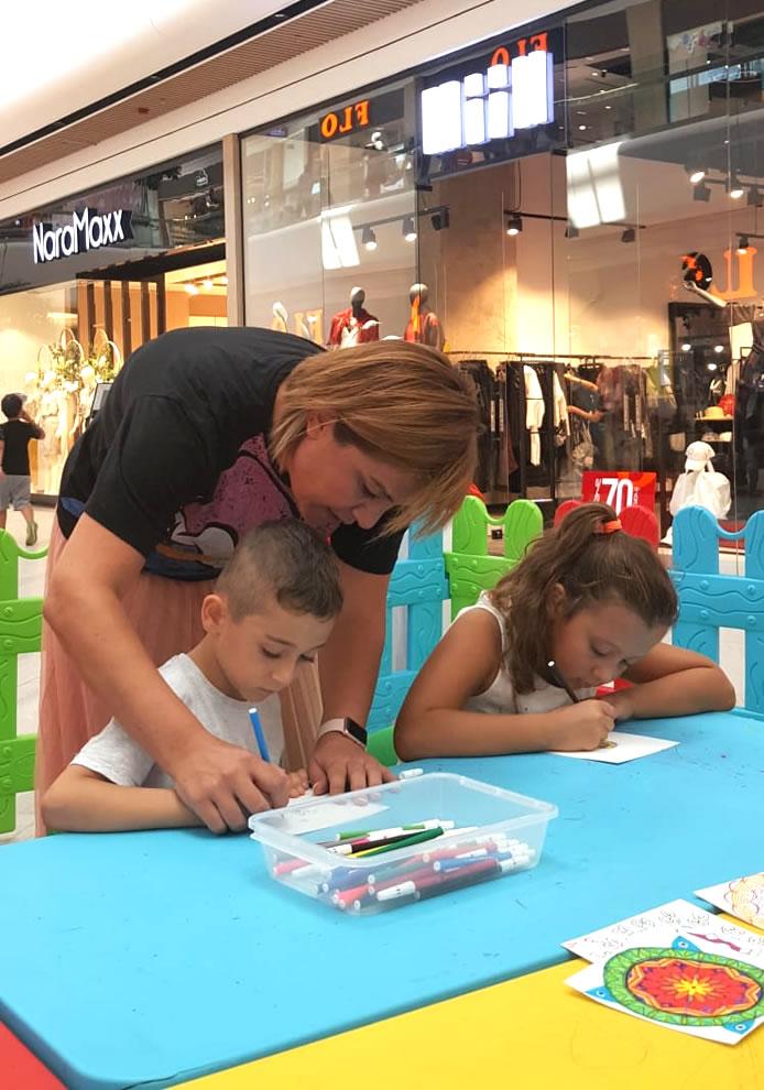 Mall of Antalya Okula Dönüş Etkinlikleri: Mandala Tasarım Atölyesi