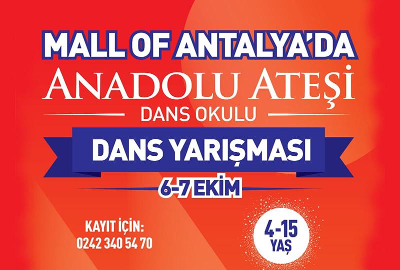 Mall of Antalya Anadolu Ateşi Dans Yarışması