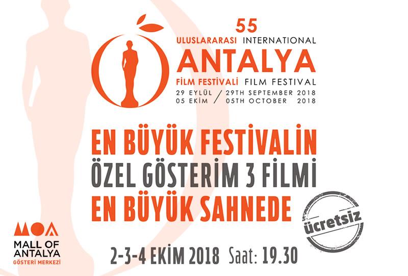 En Büyük Festivalin Özel Gösterim 3 Filmi En Büyük Sahnede