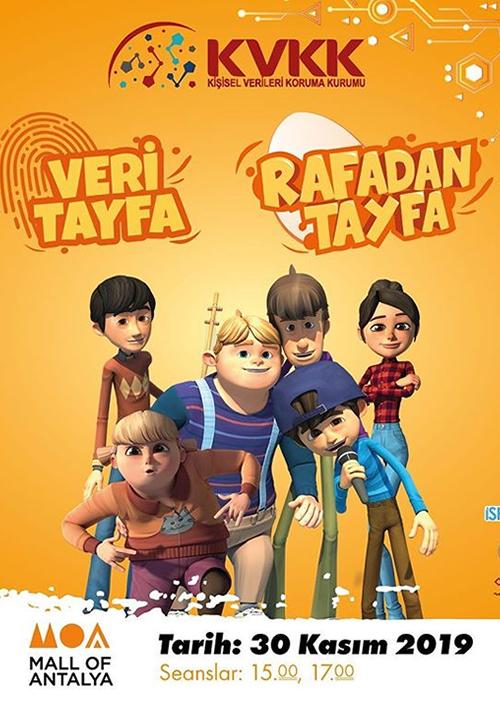 Rafadan Tayfa 30 Kasım'da Mall of Antalya'da