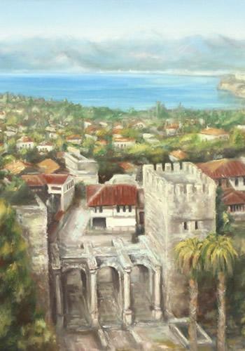 Mustafa Pişkin Resim Sergisi Mall of Antalya Sanat Galerisi'nde!
